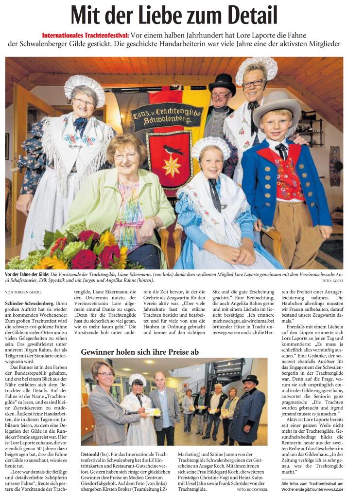 Quelle: Lippische Landeszeitung 04.08.2016