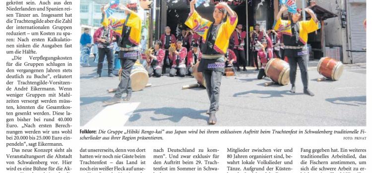 Gilde bekommt Besuch aus Japan